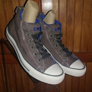 Grey Canvas Converse All Stars